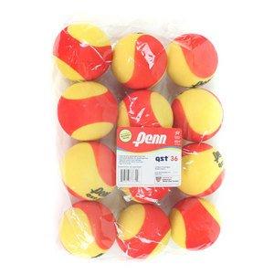 Penn Quick Start 36 Foam 12-Pack Tennis Balls 12 Pack