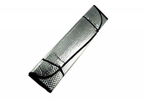 EFORCAR(R) 2PCS Foldable Auto Front Rear Sun Shade Car Windshield Visor Cover 130*60cm