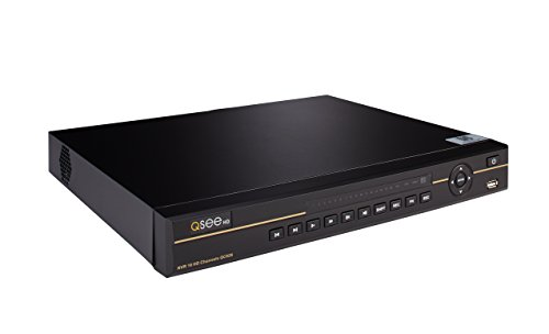 - Q-See QC826-4, 16-channel 4K HD IP NVR with 4TB Hard Drive, Network Surveillance Recorder