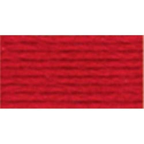 - DMC Six Strand Embroidery Cotton 100 Gram Cone: Coral Red Very Dark