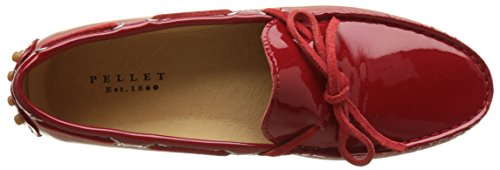 Pellet Thelma E17, Mocasines para Mujer Rouge (Vernis Rouge)