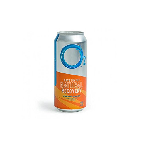 O2 Natural Recovery Drink - Orange Mango - 12 Pack