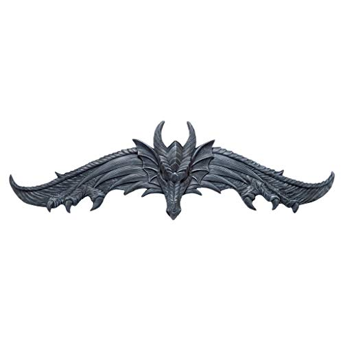 Design Toscano The Hardwick Dragon Wall Pediment (Statue European Art Sculpture)