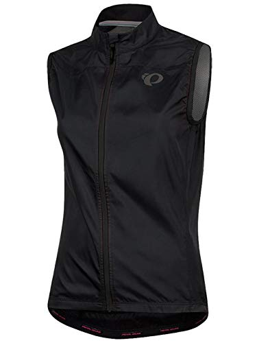PEARL IZUMI Black Elite Escape Barrier Womens Sleeveless Cycling Jacket