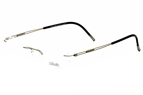 Silhouette Eyeglasses Titan Next Gen Chassis 5227 6055 Optical Frame 19x135mm