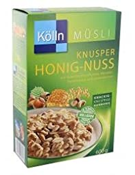 Kölln Muesli Crunchy Honey Nut 600g