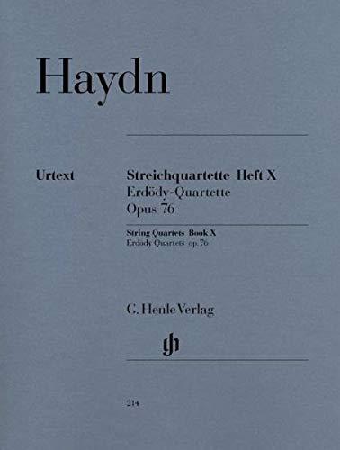 (Haydn: String Quartets - Volume 10 (Op. 76 - Erdödy Quartets) (Set of Parts))
