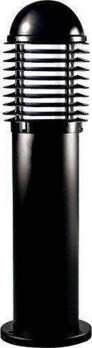 Dabmar Lighting D3395-B Powder Coated Cast Aluminum Bollard, Black