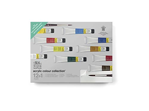 Winsor & Newton 2190602 Galeria Acrylic Paint Gift Collection 10 Colors