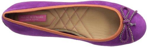 Isaac Mizrahi New York Frauen Flache Schuhe Magneta