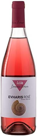 Domaine Evharis - Rose - Syrah Grenache rouge - Rose Dry Wine P.G.I. Gerania (750ml)