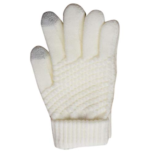 StyleV Womens Men Winter Warm Knit Faux Fleece