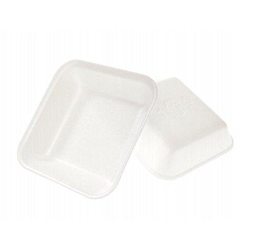 CKF 1 W1000, # 1 de espuma blanca bandejas de carne, desechables estándar supermercado (Bundle, bandejas de carne pollo alimentos congelados,: Amazon.es: ...
