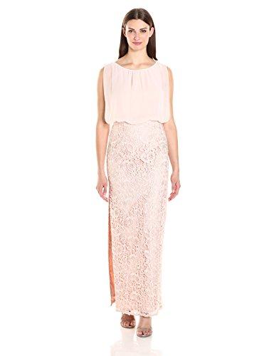 Gown Mattox s Skirt with Lace Long Petal Women Aidan Womens Blouson YdxqYa