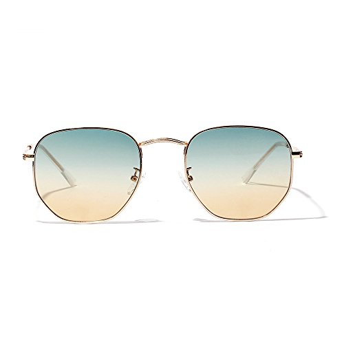 Lemon Grass Women's Green and Yellow Gradient Lens (Gradient Yellow Lens)