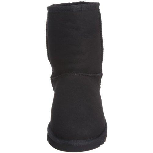 Unisex Stivali Bambino Ugg Negro 5251 K's Classic Short wYXYax