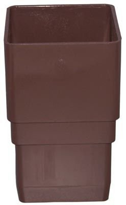 GENOVA Products RB203 Downspout Coupler, Brown