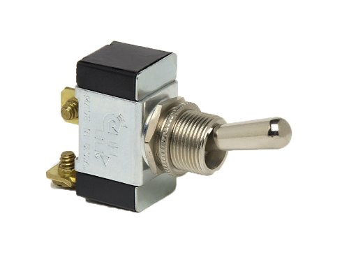 - Cole Hersee (5582-BP) SPST On-Off Toggle Switch