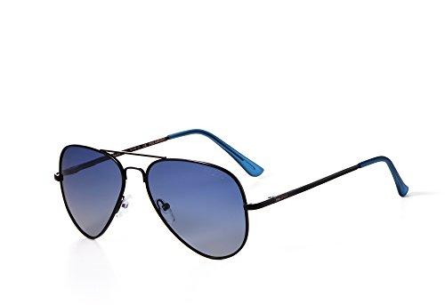 Lunettes unique soleil Homme de Miuno Bleu Taille qxXdAqH
