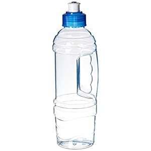 Arrow Home Products 00822 22-Ounce Clear BPA-Free Water Bottle Junior Traveler Leak Proof