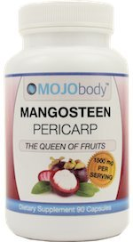 MOJObody Mangosteen Pericarp, 1500mg per a Serving Anti-inflammatory Properties Antioxidant Properties, Combats Free Radicals, Boost Immunity, Anti-Bacterial, Xanthone and Nutrient Rich Review