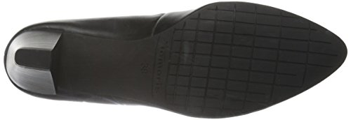 Tamaris Women's 22414 Closed-Toe Pumps, Black Black (Black Leather 003)