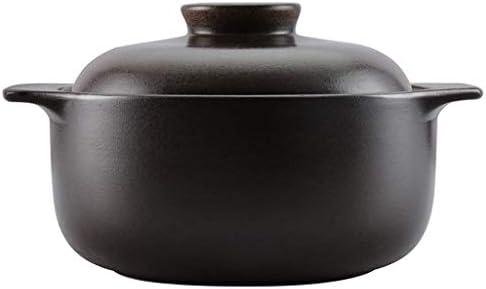 JYC 家庭用キャセロール耐久性のあるセラミック耐熱シチューポットスープポットおridgeライススープ健康スープポットガス鍋大容量多機能