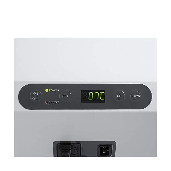 31IFtKi3VXL Mobicool MCF32, elektrische Kompressor-Kühlbox, 31 l, 12/24/230 V, Mini-Kühlschrank für Auto, Lkw, Boot, Reisemobil und…