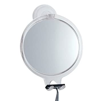 Fog Free Shaving Mirror Bath Tub and Shower with Suction Cup Mount Great Shave
