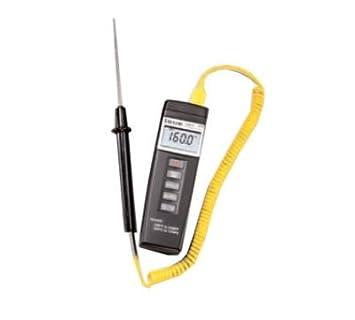 Taylor 9810 – 18 Medidor de termómetro digital w/sonda, 9810 y 9818 probe