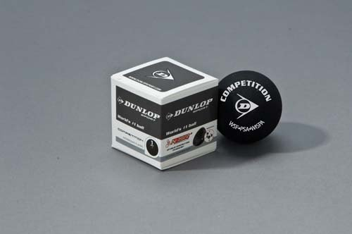 New Dunlop Competition Squash Ball Intermediate & Club Player Balls by Dunlop by Dunlop