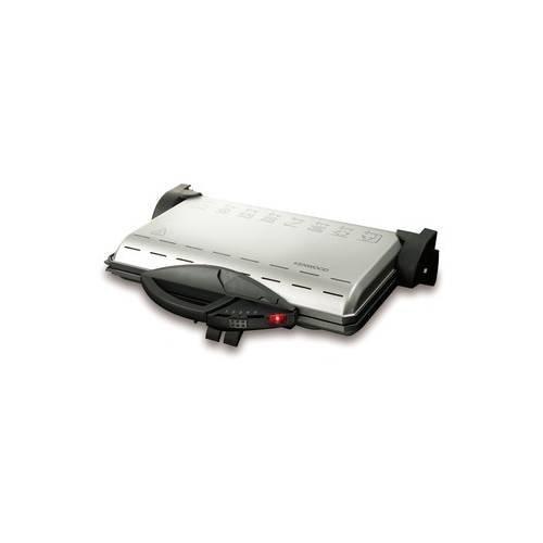 Kenwood HGM200SI Plattengriller Kontaktgrill Silber
