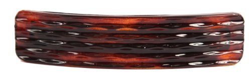 Caravan French Grille Automatic Barrette Tortoise Shell.65 Ounce ()