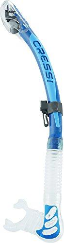 Cressi Alpha Ultra Dry snorkel (blue/blue)