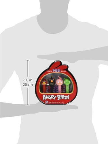 PEZ Angry Birds Gift Tin, 1.74 Ounce