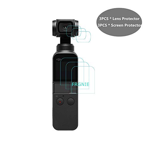 FRGNIE for 2018 DJI Osmo Pocket Screen Protector, Ultra Clea