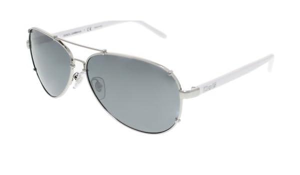 e8b3a37cd7c DOLCE   GABBANA D G 6047 White Silver 062 6G Sunglasses  Dolce   Gabbana   Amazon.ca  Shoes   Handbags