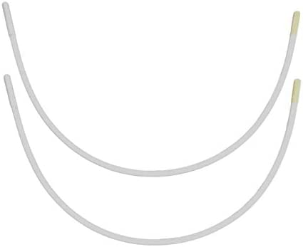 Porcelynne Carbon Steel Replacement Underwire Repair - Nylon Coated - Heavy Gauge Sturdy Wire for Bras - Regular Wire Size 36-1 Pair - See Pictures for Measurements and How to Order