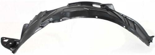 Driver Side Fender Splash Shield for Honda Civic 2001-2003 New HO1248109 Front