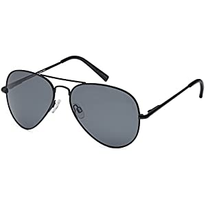 JETPAL Premium Classic Aviator UV400 Sunglasses w Flash Mirror Lenses