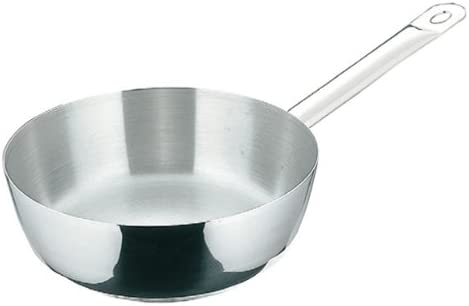 De Buyer Professional 24 cm Stainless Steel Lid with Knob for Appety Priority or Twisty Cookware 3459.24N