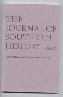 Books : The Journal of Southern History, Volume 58, Number 3 (August 1992)