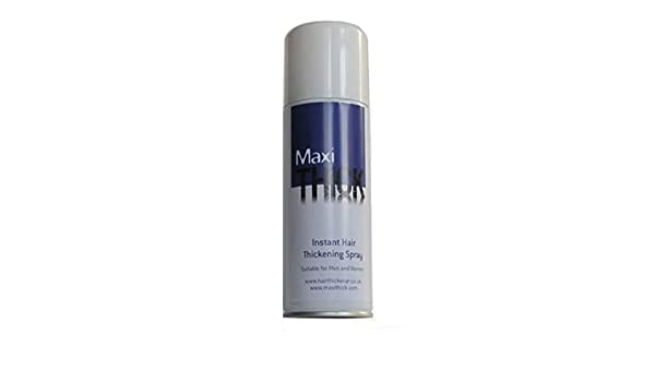 maxithick Instant Hair Spray: Amazon.es: Belleza