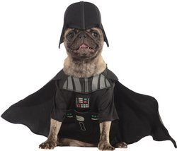Darth Vader Costume For Dogs (Darth Vader Pet Pet Costume - Large)