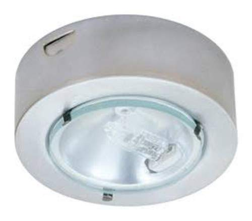 Puck Lens Mini Clear - Elco E228 Mini Downlight with Clear Glass Lens, Aluminum Diecast