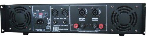 Amazon.com: 2 Channel 2000 Watts Professional DJ PA Power Amplifier 2U Rack mount SYS-2000 MUSYSIC: Musical Instruments