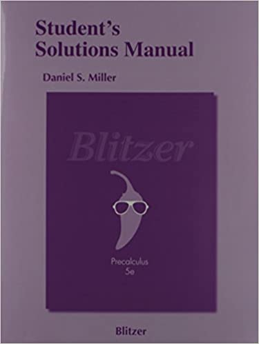 Students solutions manual for precalculus robert f blitzer students solutions manual for precalculus 5th edition by robert f blitzer fandeluxe Choice Image
