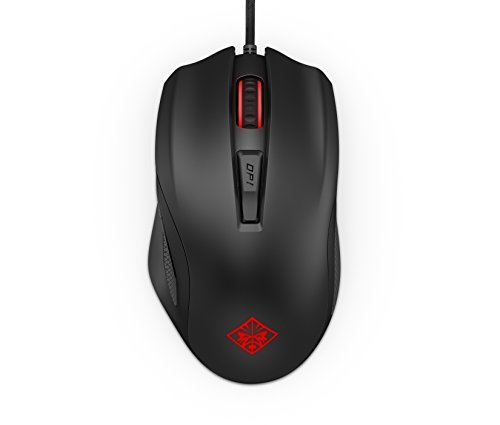 OMEN by HP Wired USB Gaming Mouse 600 (Black/Red)