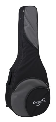 Ovation Carrying Case (Backpack) for Guitar - Black - Nylon