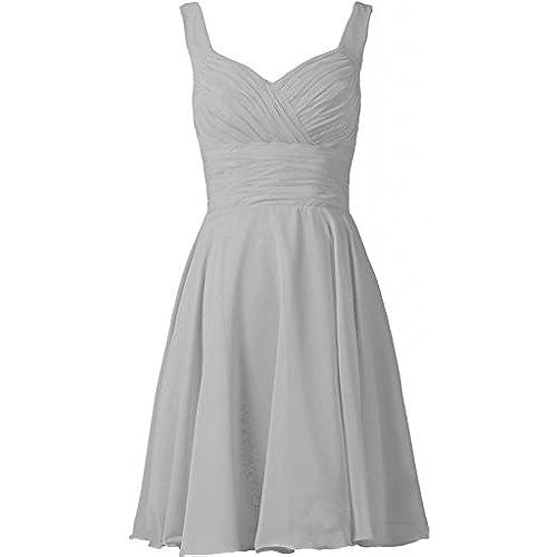 Plus Size Bridesmaid Dresses Silver Amazon